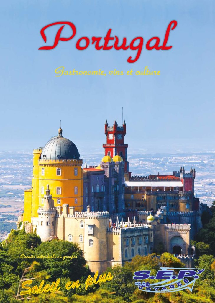 Catalogue du Portugal - SEP Voyages Lausanne Suisse