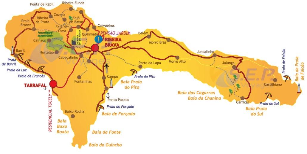 L'île de São Nicolau, groupe des îles au vent, encore peu fréquentée par les touristes, est l'île par excellence pour les amoureux de la pêche.
