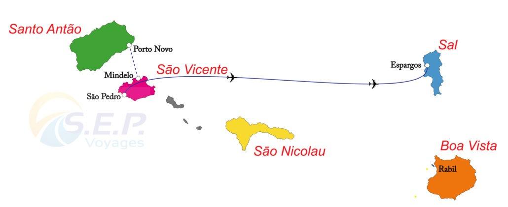 """Cap-Vert, Circuit """"Trésors de la Morabeza"""", 3 îles en 8 jours, São Vicente – Santo Antaõ – Sal"""