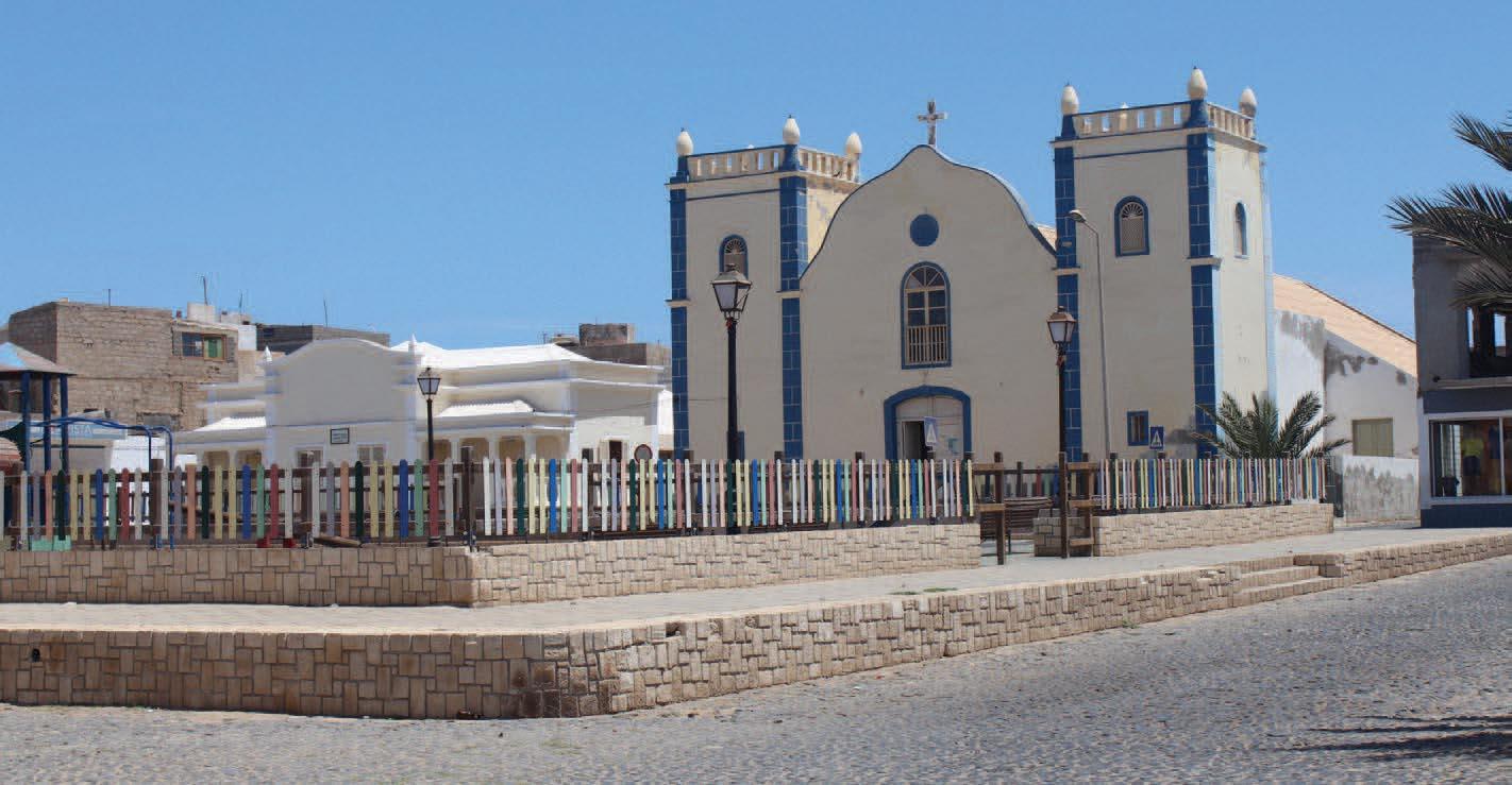 Eglise Santa Isabel de Sal Rei sur l'île de Boa Vista